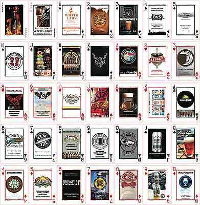 Bicycle Craft Beer Playing Card Deck