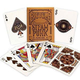 Bicycle Bronze Steampunk Playing Card Deck