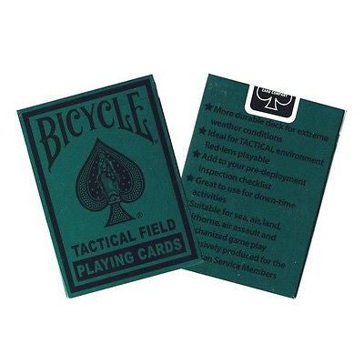 Bicycle Tactical Field Playing Card Deck