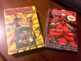 """Chimichanga For Dinner"" Deadpool Solo & Deadpool w/Family Playing Cards by Aquarius"
