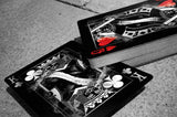"""The Arcane Twins"" Black & White Arcane Playing Cards by Ellusionist"