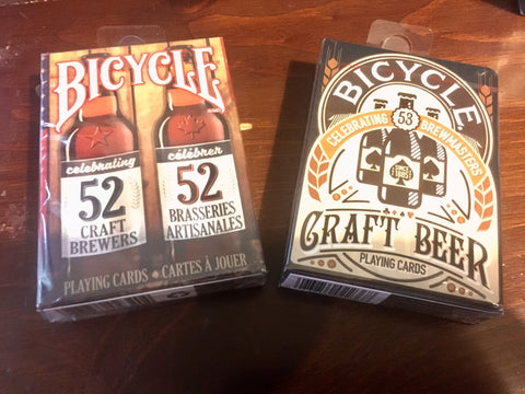 """Are you a Brewmaster?"" Craft Brewer & Craft Beer Playing Cards by Bicycle"