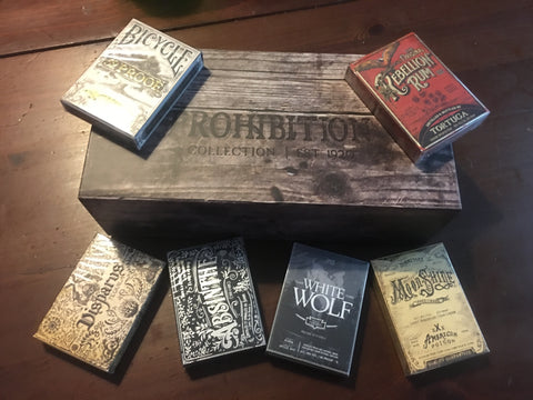 Prohibition 6-Deck Set by Ellusionist