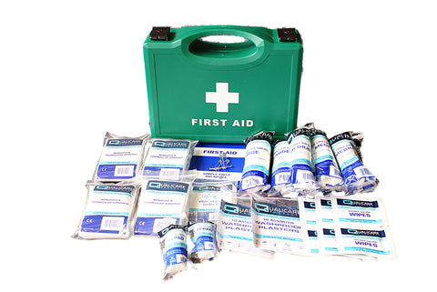 First Aid HSE Kit 1-10 Person -  - 1