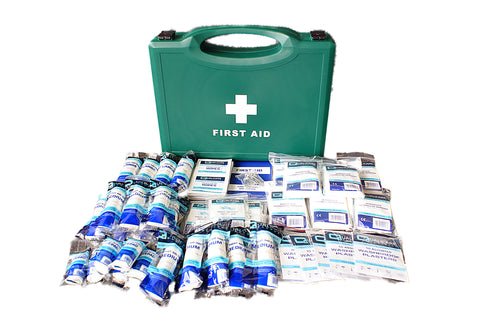First Aid HSE Kit 1-50 Person -  - 1