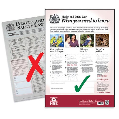 HSE Law Poster/Sign - First Aid - UK