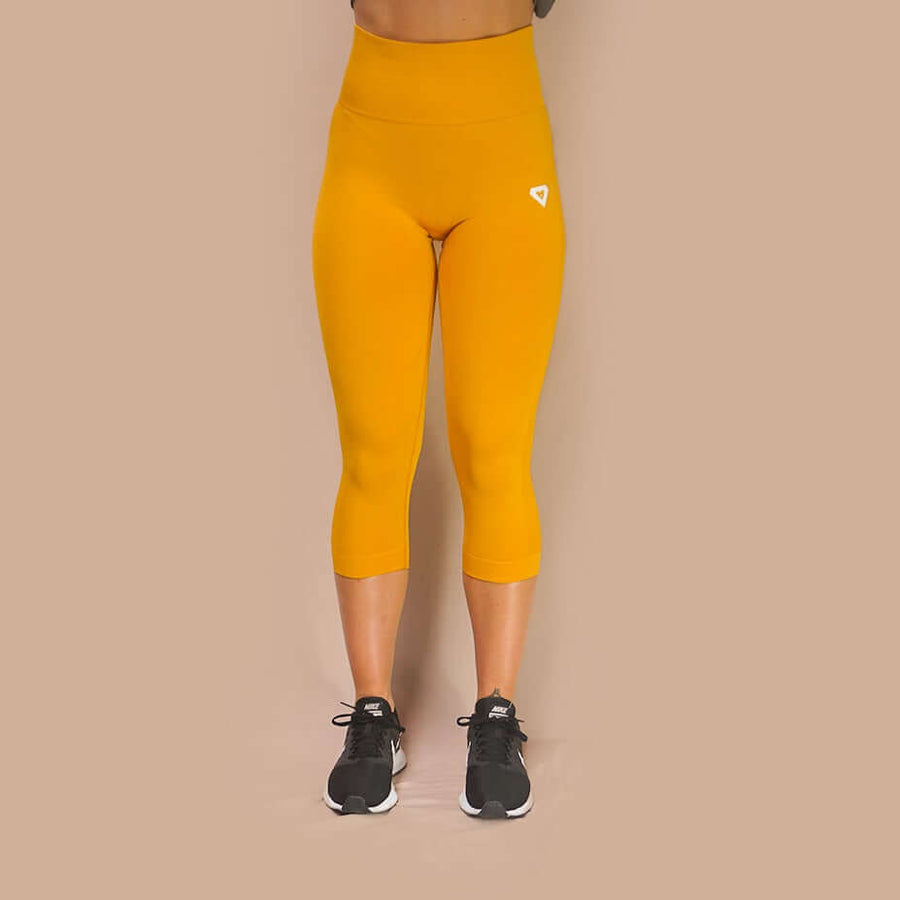Merakilo 4/5 Amenity Leggings - Honey - merakilo