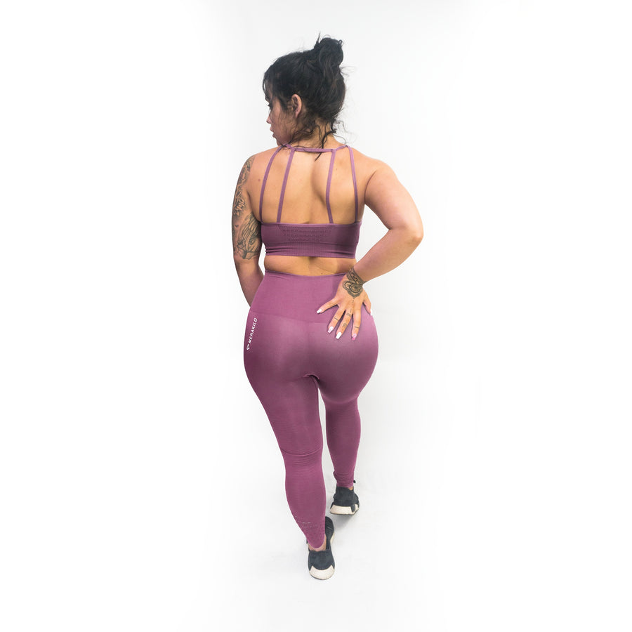 Merakilo Adapt Seamless Sports Bra - Purple - merakilo