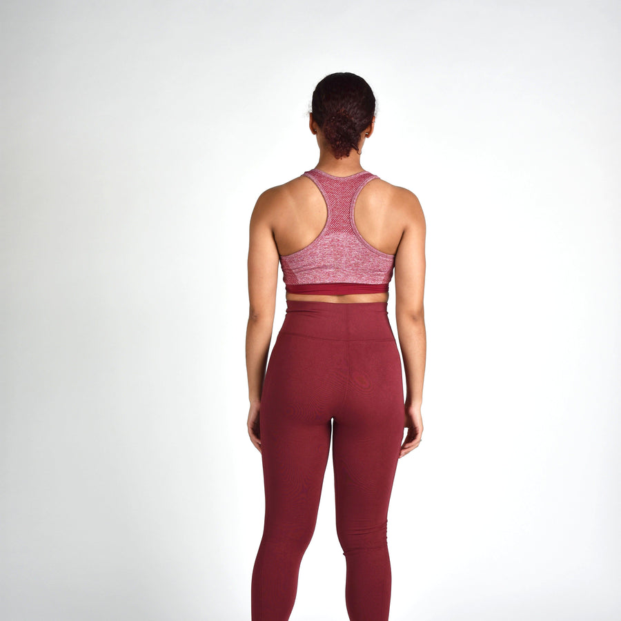 Bottoms & Leggings - Merakilo Amenity Leggings - Cherry Red