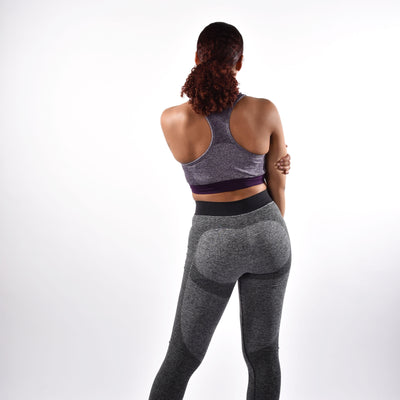 Bottoms & Leggings - Merakilo Fusion Seamless Leggings - Charcoal