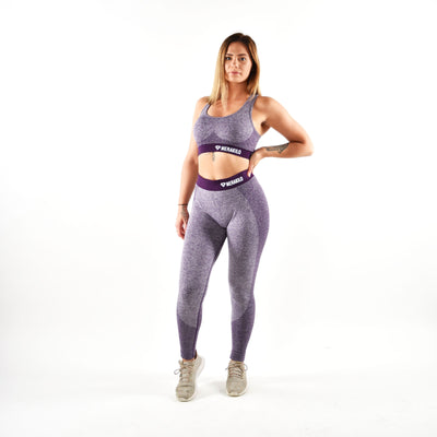 Bottoms & Leggings - Merakilo Fusion Seamless Leggings - Purple
