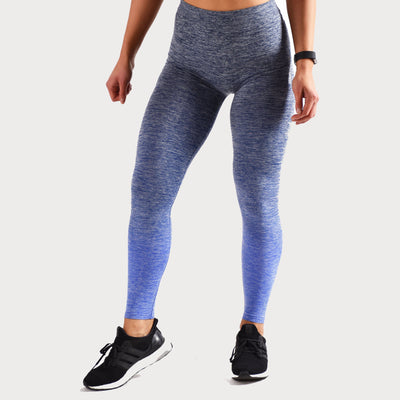 Bottoms & Leggings - Merakilo Lagoon Leggings -  Blue Marl