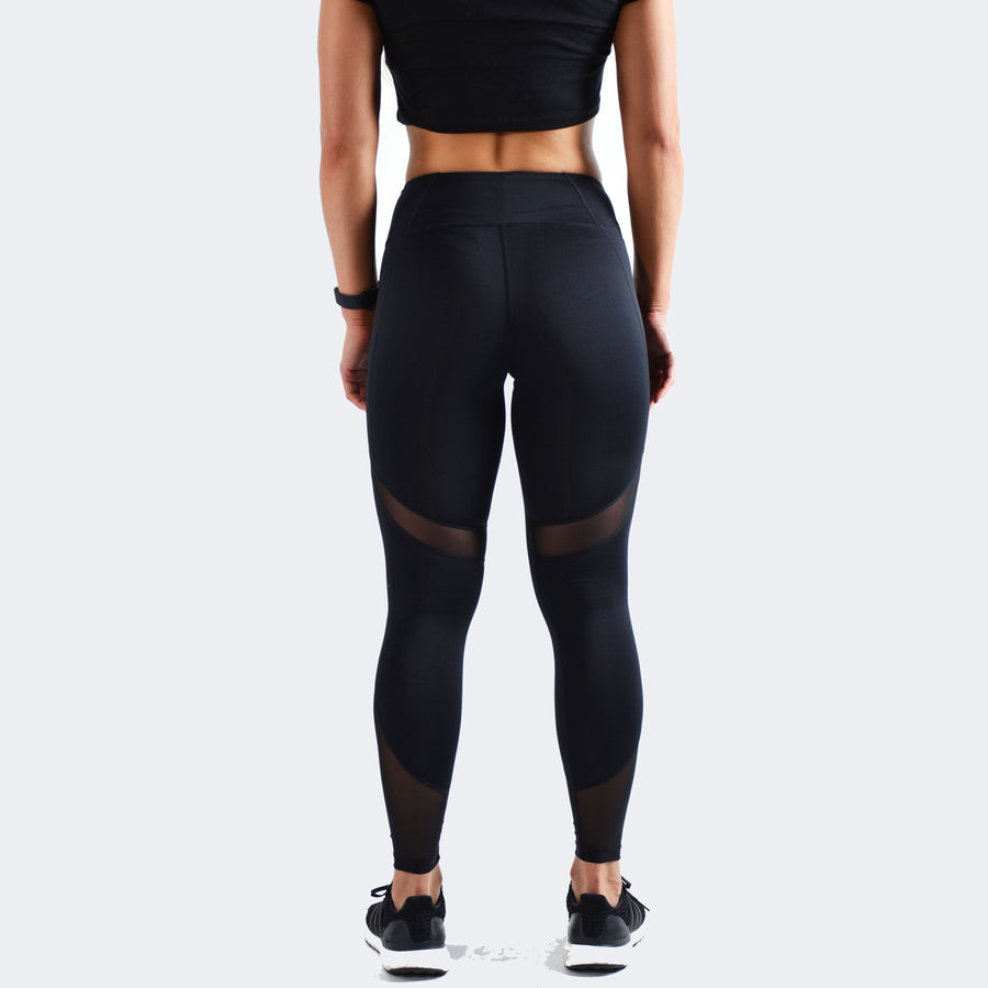 Bottoms & Leggings - Merakilo Mesh Leggings - Black