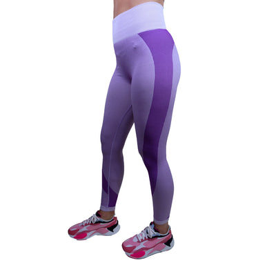 Bottoms & Leggings - Merakilo Motion Seamless Leggings - Baby Pink/ Lilac