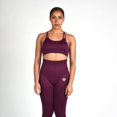 Bottoms & Leggings - Merakilo Pulse Seamless Leggings - Grape