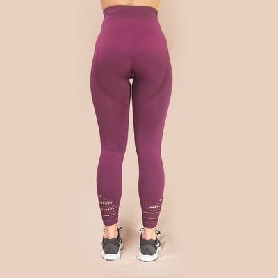 Merakilo Pulse Seamless Leggings - Grape - merakilo