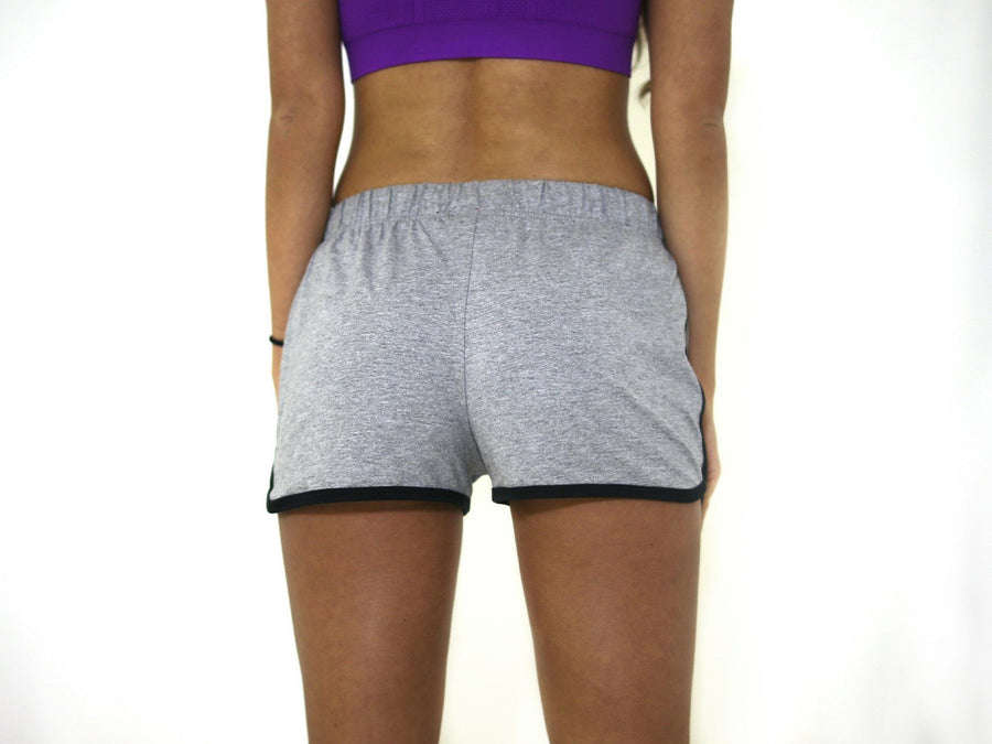 Merakilo Scope Shorts - Heather Grey - merakilo