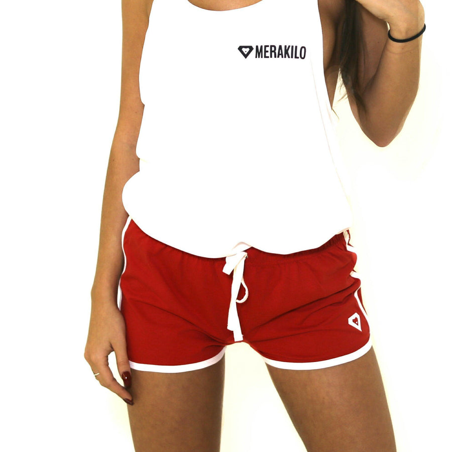 Merakilo Scope Shorts - Red - merakilo