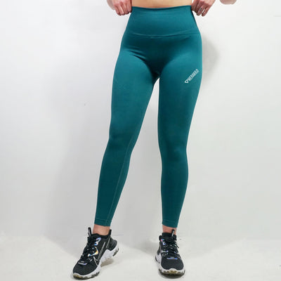 Bottoms & Leggings - Merakilo Softened Seamless Leggings - Aqua Marine
