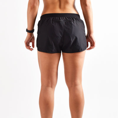 Bottoms & Leggings - Merakilo Women's Solo Shorts - Vantablack