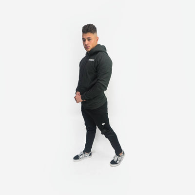 Merakilo Fluid Full Zip Jacket- Black - merakilo