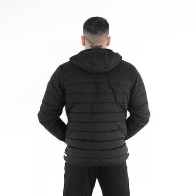 Merakilo Men's Blade Padded Jacket- Black - merakilo