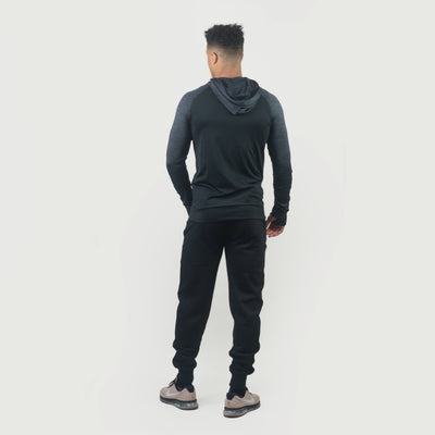Hoodies & Jackets - Merakilo Men's Ignite Zip-Jacket - Black