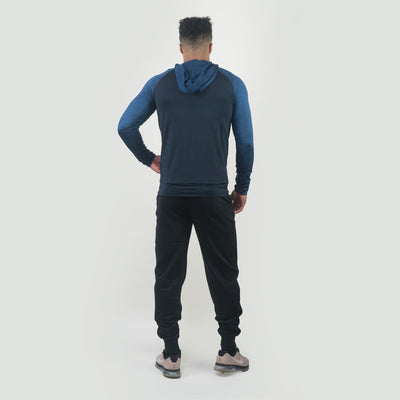 Hoodies & Jackets - Merakilo Men's Ignite Zip-Jacket - Navy
