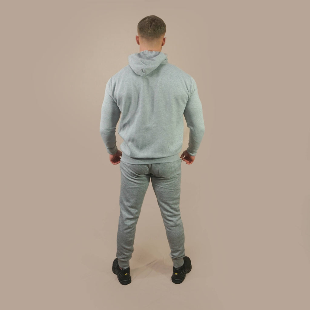 Merakilo Mens Requisite Zip Jacket - Heather Grey - merakilo