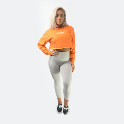 Merakilo Crop Jumper - Orange - merakilo