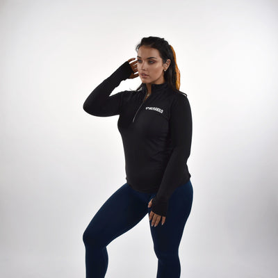 Jackets & Hoodies - Merakilo Fitness Pullover - Black