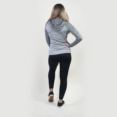Merakilo Women's Ignite Zip-Jacket - Grey - merakilo