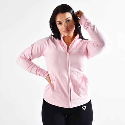 Jackets & Hoodies - The Merakilo Women's City Full Zip Jacket - Pink