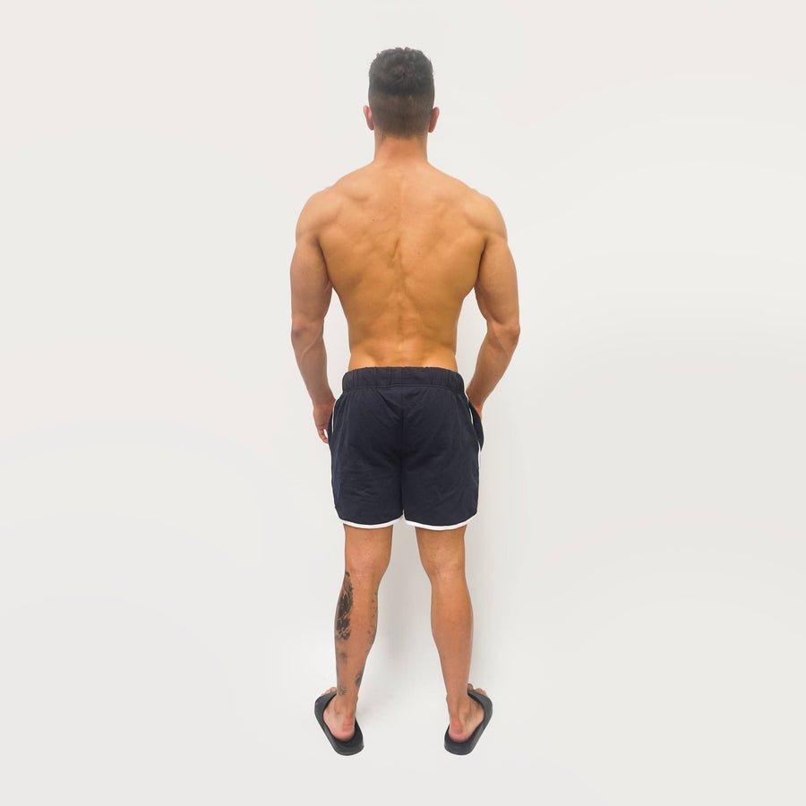 Merakilo Men's Scope Shorts - Navy - merakilo