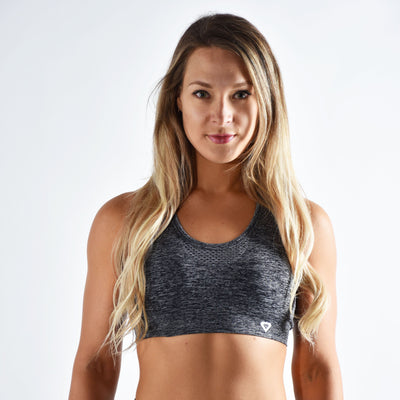 Sports Bra - Merakilo Lagoon Sports Bra - Grey Marl