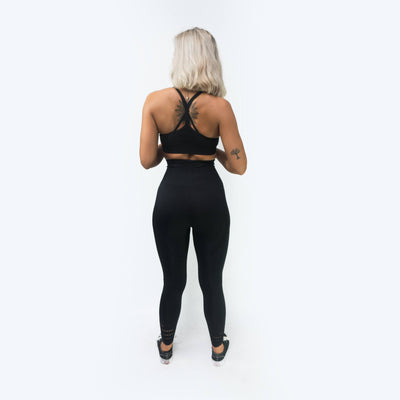 Merakilo Pulse Sports Bra - Black - merakilo