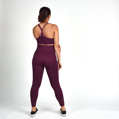 Sports Bra - Merakilo Pulse Sports Bra - Grape