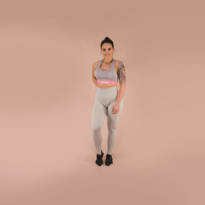 Merakilo Sole Sports Bra - Cheesecake - merakilo