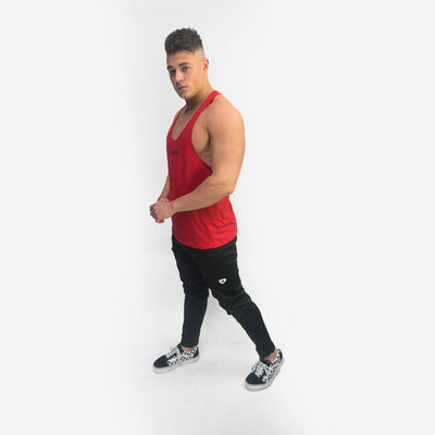 Merakilo Fitness Stringer - Red - merakilo