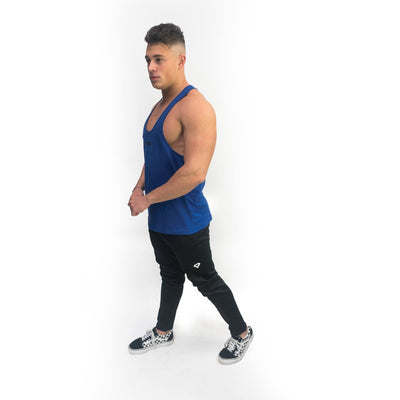 Merakilo Fitness Stringer - Royal Blue - merakilo