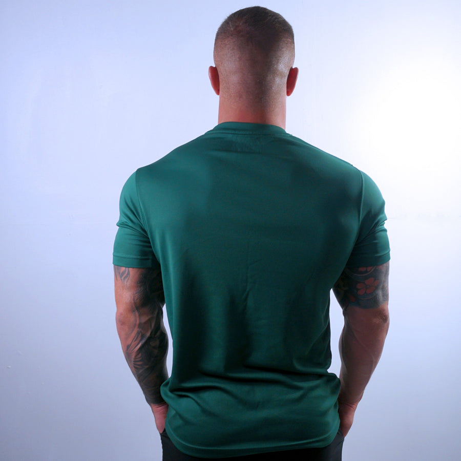 T-Shirts & Tops - Merakilo Men's Core Tee - Bottle Green