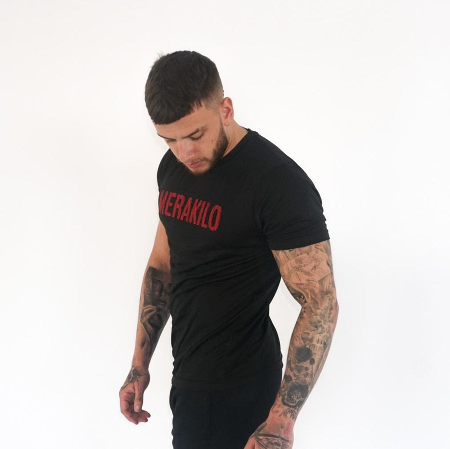 T-Shirts & Tops - Merakilo Men's Core Tee- Red Edition