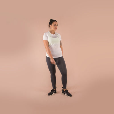 Merakilo Ladies Core T-Shirt - Arctic White - merakilo