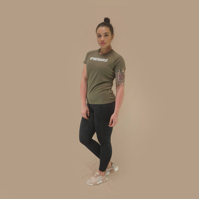Merakilo Ladies Core T-Shirt - Khaki - merakilo