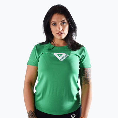 Tops - Merakilo Ladies Slide T-Shirt - Green