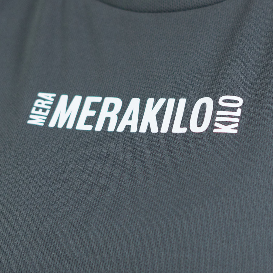 Merakilo Ladies Sweep T-Shirt - Grey - merakilo