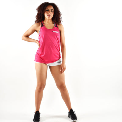 Tops - Merakilo Shadow Vest - Pink