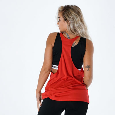 Merakilo Women's Endurance Stringer - Red - merakilo
