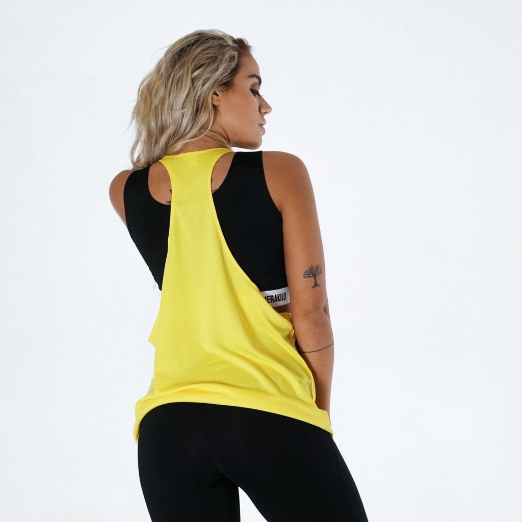 Merakilo Women's Endurance Stringer - Yellow - merakilo
