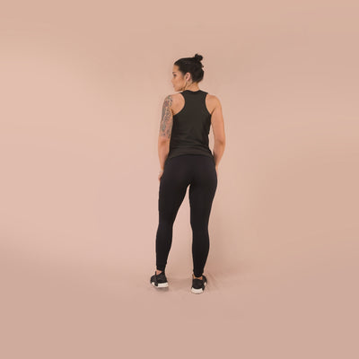 Merakilo Women's FIT Tank - Black - merakilo